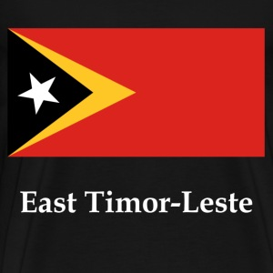 East Timor-Leste Flag T-Shirts - Men's Premium T-Shirt