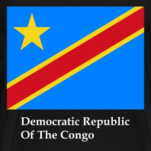 Democratic Republic Of The Congo Flag T-Shirts - Men's Premium T-Shirt