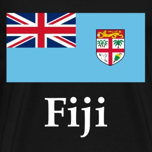 Fiji Flag T-Shirts - Men's Premium T-Shirt