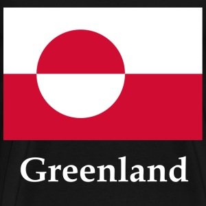 Greenland Flag T-Shirts - Men's Premium T-Shirt