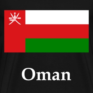 Oman Flag T-Shirts - Men's Premium T-Shirt
