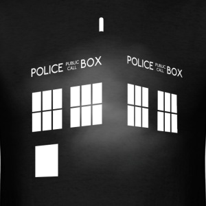Tardis T-Shirts - Men's T-Shirt
