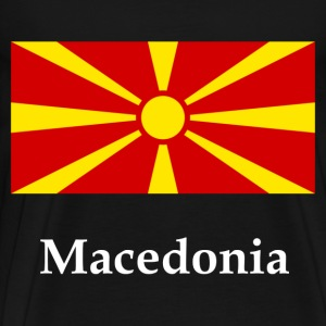 Macedonia Flag T-Shirts - Men's Premium T-Shirt