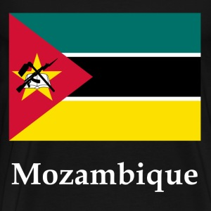 Mozambique Flag T-Shirts - Men's Premium T-Shirt
