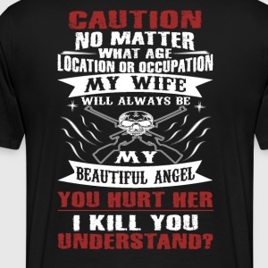 CAUTION MY WIFE - Men's Premium T-Shirt