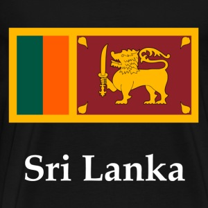 Sri Lanka Flag T-Shirts - Men's Premium T-Shirt