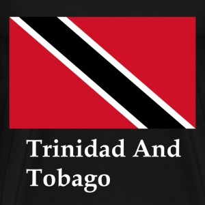 Trinidad And Tobago Flag T-Shirts - Men's Premium T-Shirt