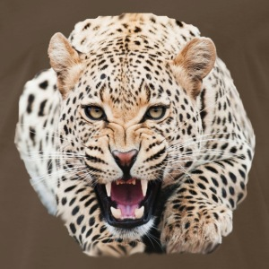 Cheetah Face T-Shirts - Men's Premium T-Shirt