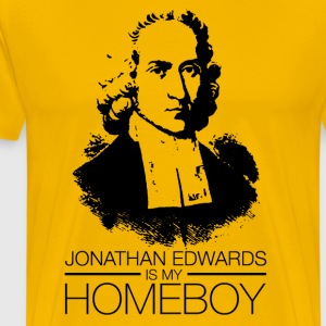 Jonathan Edwards T-Shirts - Men's Premium T-Shirt