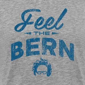 Feel The Burn - Vintage Blue T-Shirts - Men's Premium T-Shirt