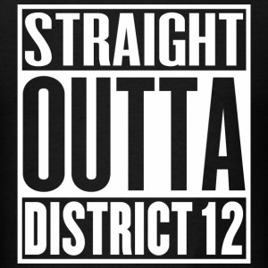 Straight Outta District 12 - Men's T-Shirt