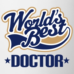 Worlds Best Doctor Mugs & Drinkware - Coffee/Tea Mug
