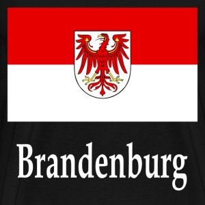 Brandenburg Flag T-Shirts - Men's Premium T-Shirt