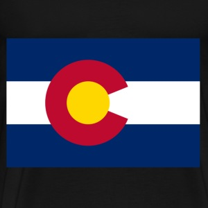 Colorado Flag T-Shirts - Men's Premium T-Shirt
