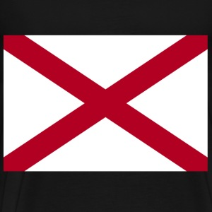 Alabama Flag T-Shirts - Men's Premium T-Shirt