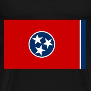 Tennessee Flag T-Shirts - Men's Premium T-Shirt