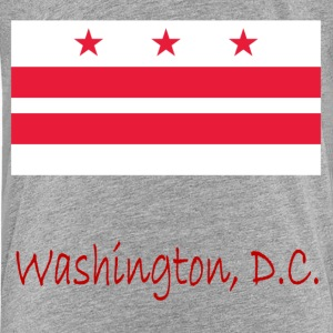 Washington, D.C Flag And Name Kids' Shirts - Kids' Premium T-Shirt