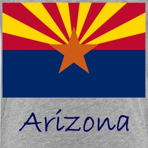 Arizona Flag And Name  Kids' Shirts - Kids' Premium T-Shirt