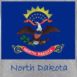 North Dakota Flag And Name  Kids' Shirts - Kids' Premium T-Shirt