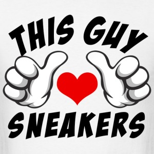 this guy loves sneakers T-Shirts - Men's T-Shirt
