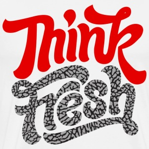 think fresh cement T-Shirts - Men's Premium T-Shirt