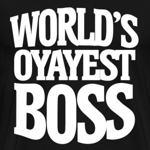 Worlds okayest Boss for bosses day - Men's Premium T-Shirt