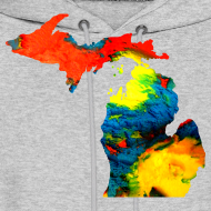 Design ~ Michigan Super Man Ice Cream State