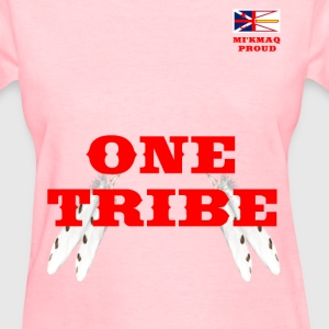 MI'KMAQ PROUD ONE TRIBE - Women's T-Shirt