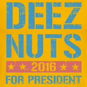 Deez Nuts for President T-Shirts - Men's Premium T-Shirt