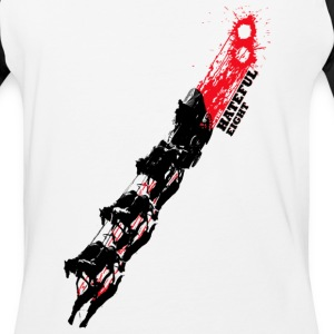Quentin Tarantino The Hateful Eight | Blood Trails T-Shirts - Baseball T-Shirt