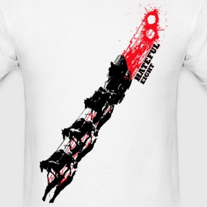 Quentin Tarantino The Hateful Eight | Blood Trails T-Shirts - Men's T-Shirt