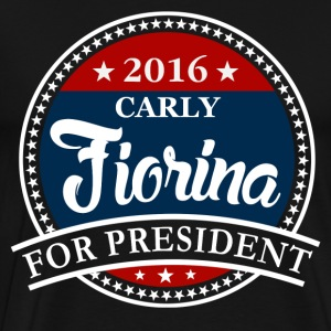 Carly Fiorina 2016 T-Shirts - Men's Premium T-Shirt