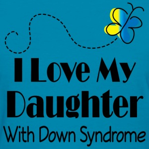Down Syndrome Daughter Women's T-Shirts - Women's T-Shirt