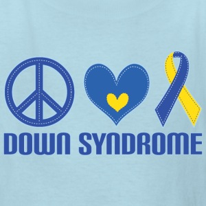 Down Syndrome Peace Kids' Shirts - Kids' T-Shirt