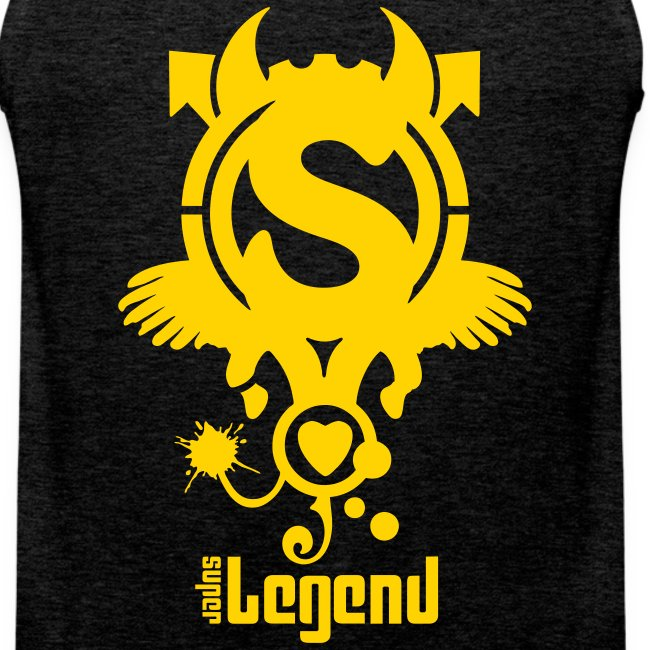 SUPERLEGEND MAN - front print - s/5xl - multi colors