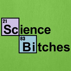 Science Bitches Bags & backpacks - Tote Bag