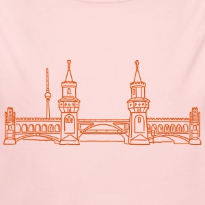 Oberbaum Bridge in Berlin Baby & Toddler Shirts - Long Sleeve Baby Bodysuit