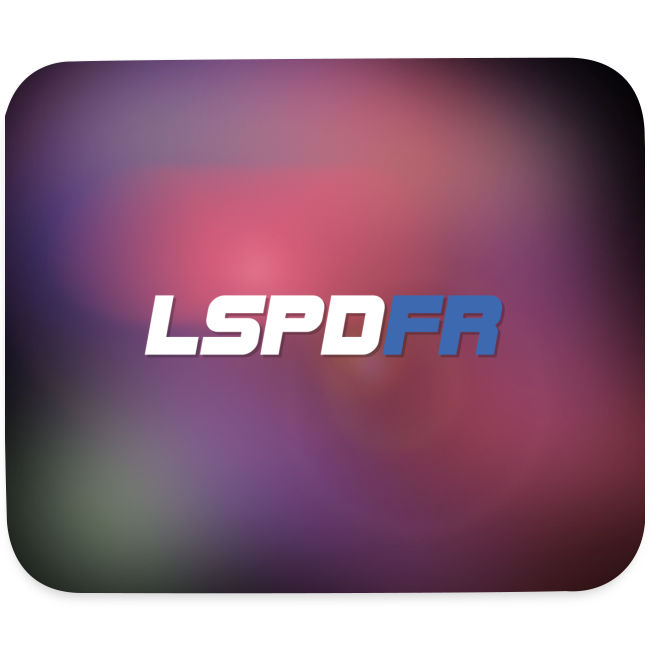 LSPDFR Abstract Mousepad