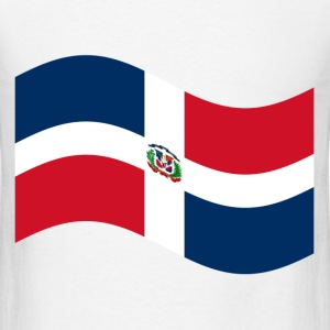 Dominican Republic Flag T-Shirts - Men's T-Shirt