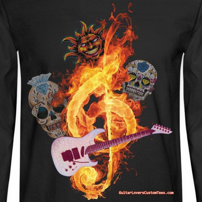 Guitar-FireClef - long sleeve