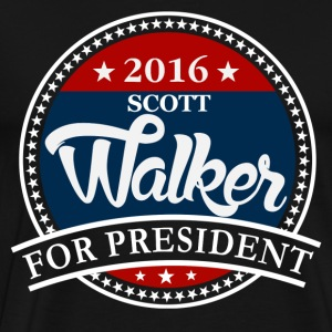 Scott Walker 2016 T-Shirts - Men's Premium T-Shirt
