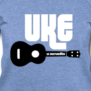 Uke Ukulele Long Sleeve Shirts - Women's Wideneck Sweatshirt