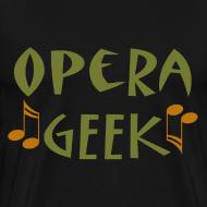 Design ~ Opera Geek Music T-shirt