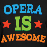 Design ~ Opera Music T-shirt (Awesome)