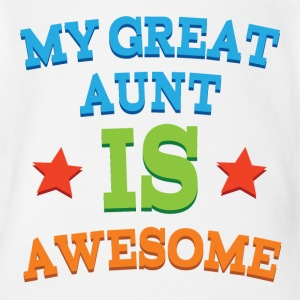 My Great Aunt Is Awesome Baby & Toddler Shirts - Short Sleeve Baby Bodysuit