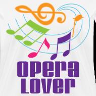 Design ~ Opera Lover Music T-shirt