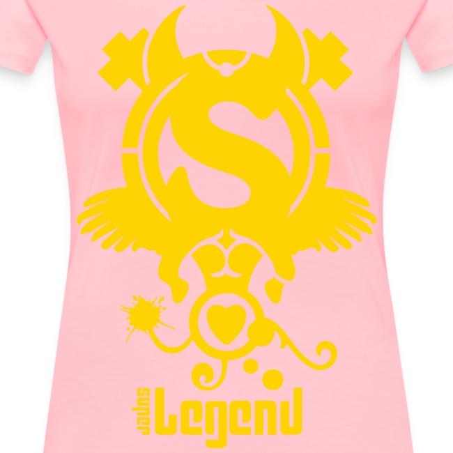 SUPERLEGEND WOMAN - front print - s/3xl - multi colors