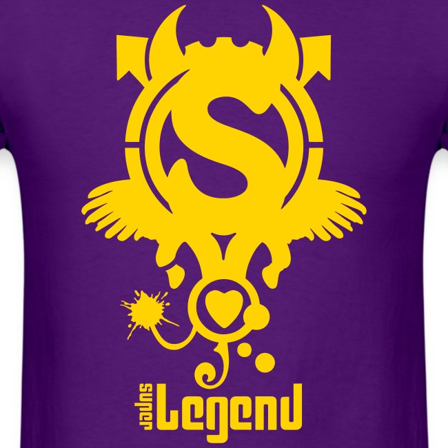 SUPERLEGEND MAN - front print - s/xxl - multi colors