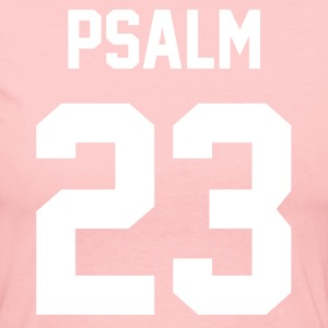 Psalm 23 - Men's Baseball T-Shirt - Women's Long Sleeve Jersey T-Shirt