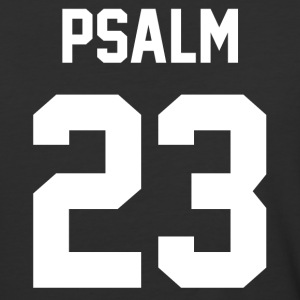 Psalm 23 - Men's Baseball T-Shirt - Baseball T-Shirt